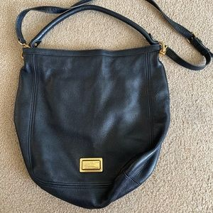 """Marc Jacobs Black Leather """"Take Your Marc"""" Purse"""